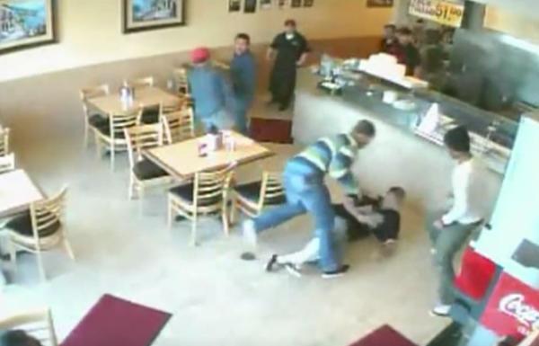식당 패싸움